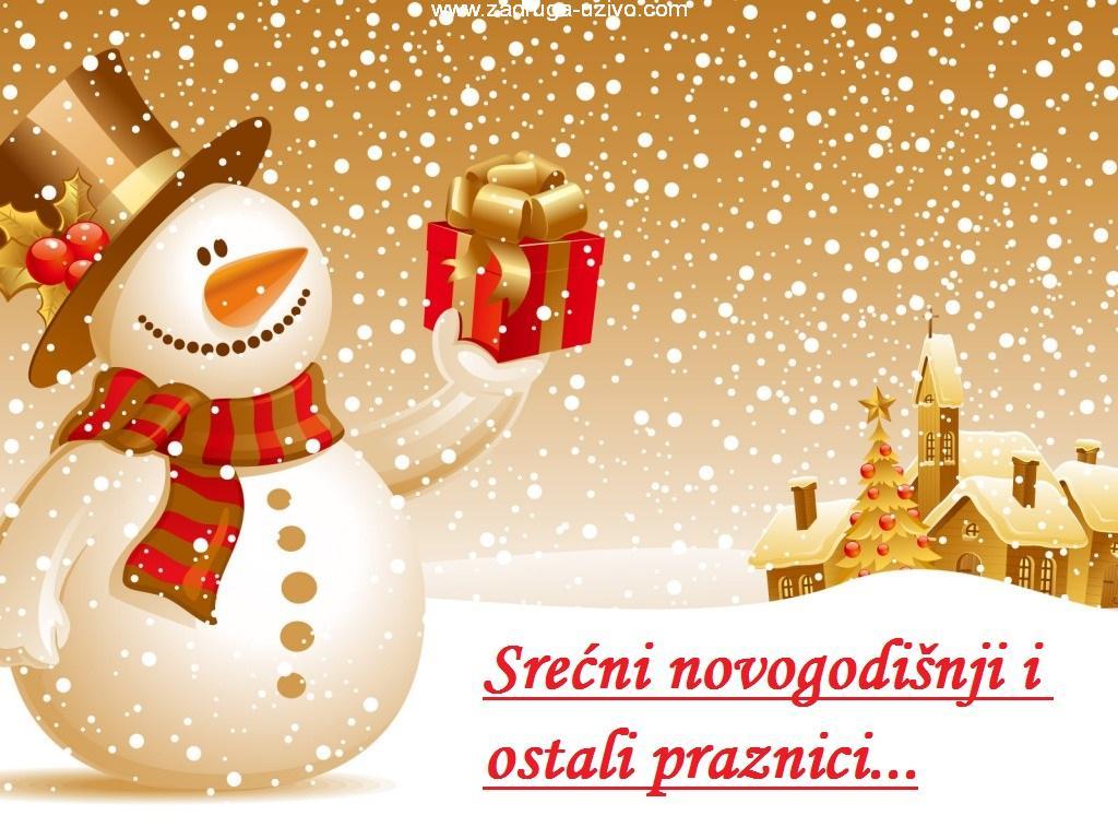 Srećna Nova Godina - Zadruga Uzivo