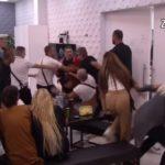 Kriminalac Kristijan Golubović napao ženu u uživo emisiji na Pink TV, drugog učesnika rijalitija bacio na pod!