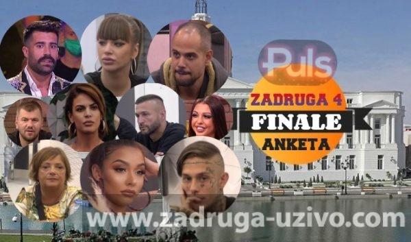Zadruga 4 finale - ANEKTA - GLASANJE