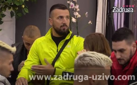 Vladimir Tomović nasrnuo na Janjuša! Tresla se Zadruga! (VIDEO)